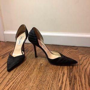 Beautiful condition jimmy choo black heels